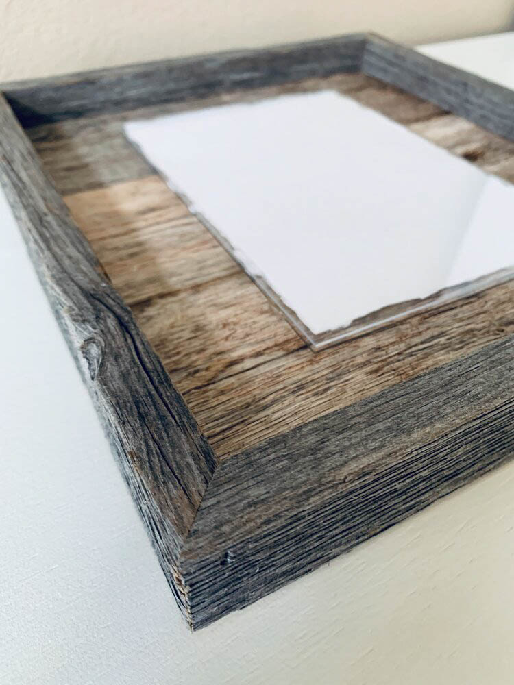 11X14 Rustic Planked Barn Wood Frame - Gallery 2