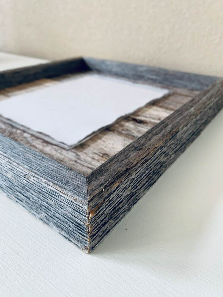 11X14 Rustic Planked Barn Wood Frame - Gallery 3