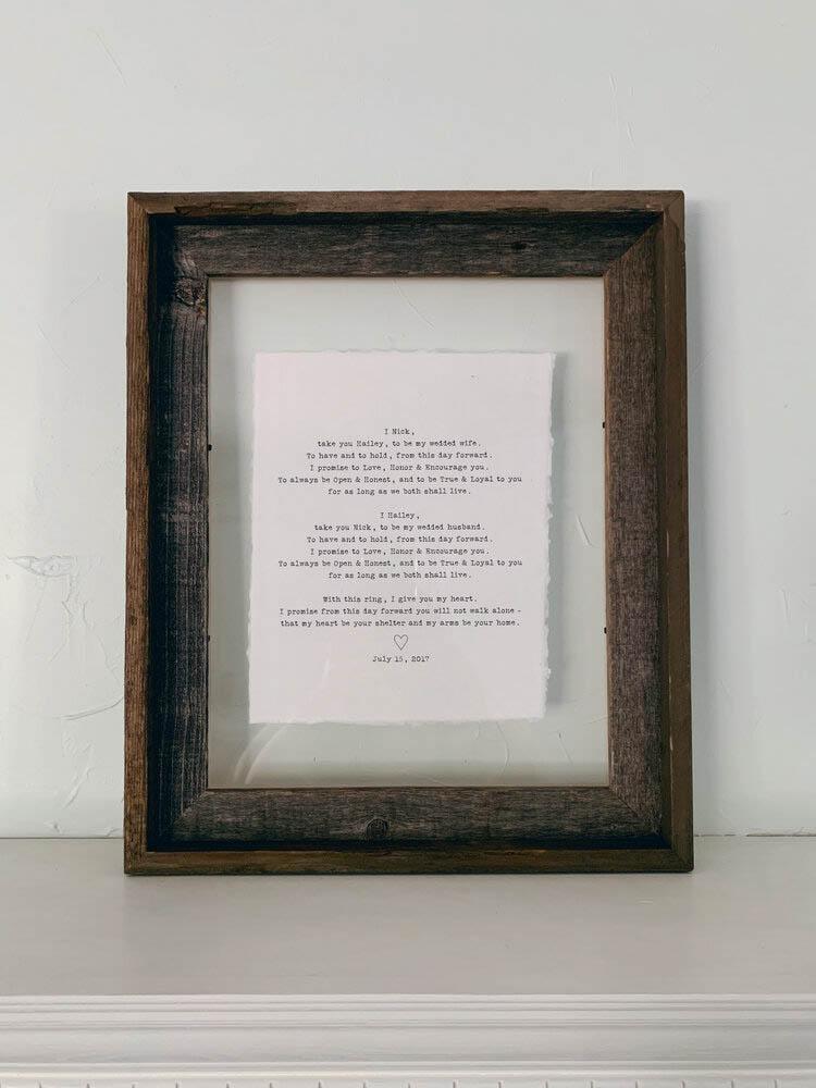 11x14 Rustic Reclaimed Barn Wood Frame- gallery 3