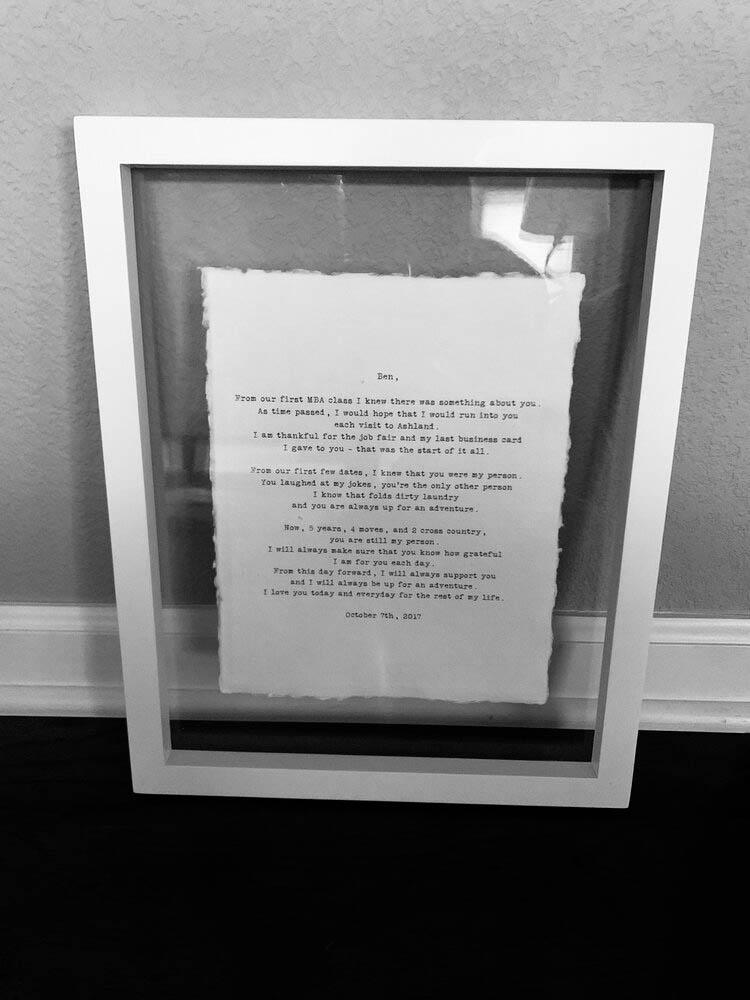 11x14 White Float Frame - Gallery 2