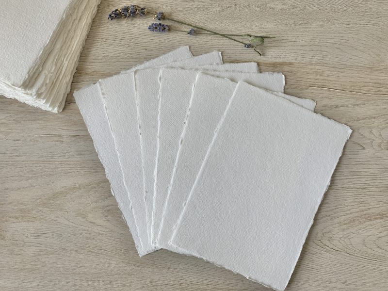 5x7-inch Cotton Paper