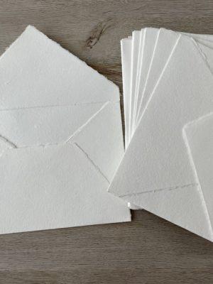 a7 cotton envelopes