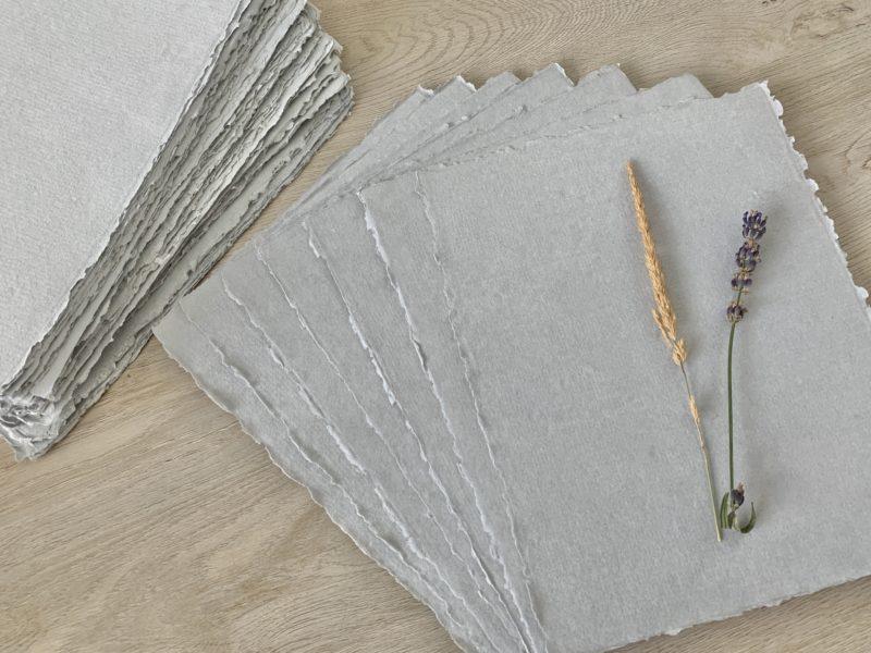 Sustainable Handmade Cotton Paper