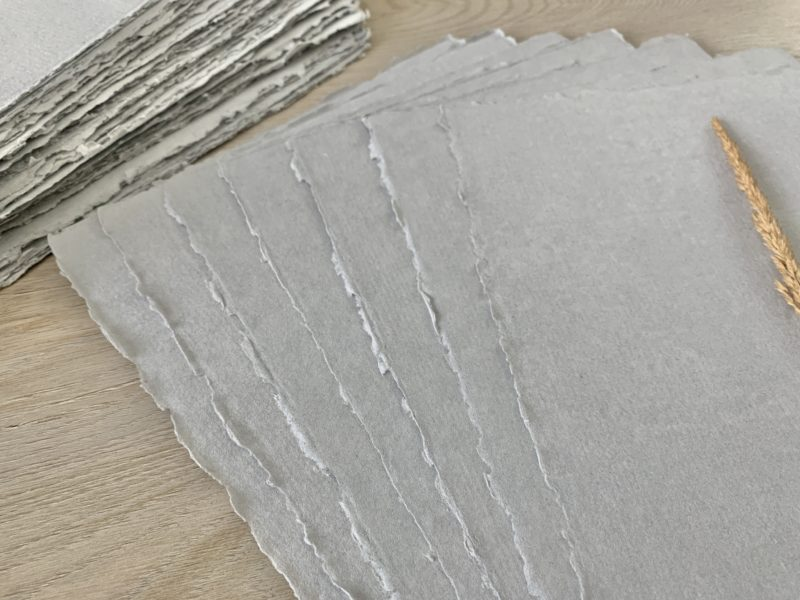 Handmade Cotton Paper for Wedding Programs