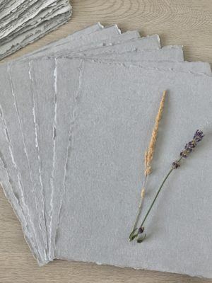 Cotton Rag Paper Light Grey