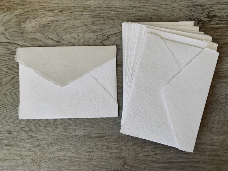 handmade a6 envelopes