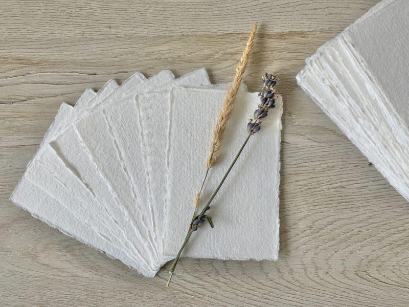 3x5 Wedding Place Cards Handmade