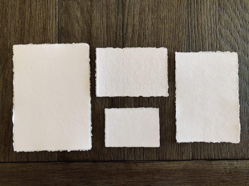 wedding invitation suite with details cards cotton paper
